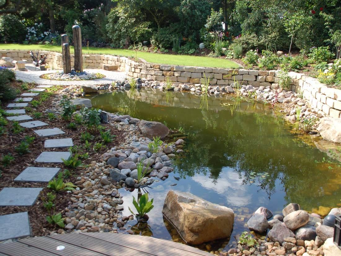 Gartenteich | Galabau Mähler | Naturteich