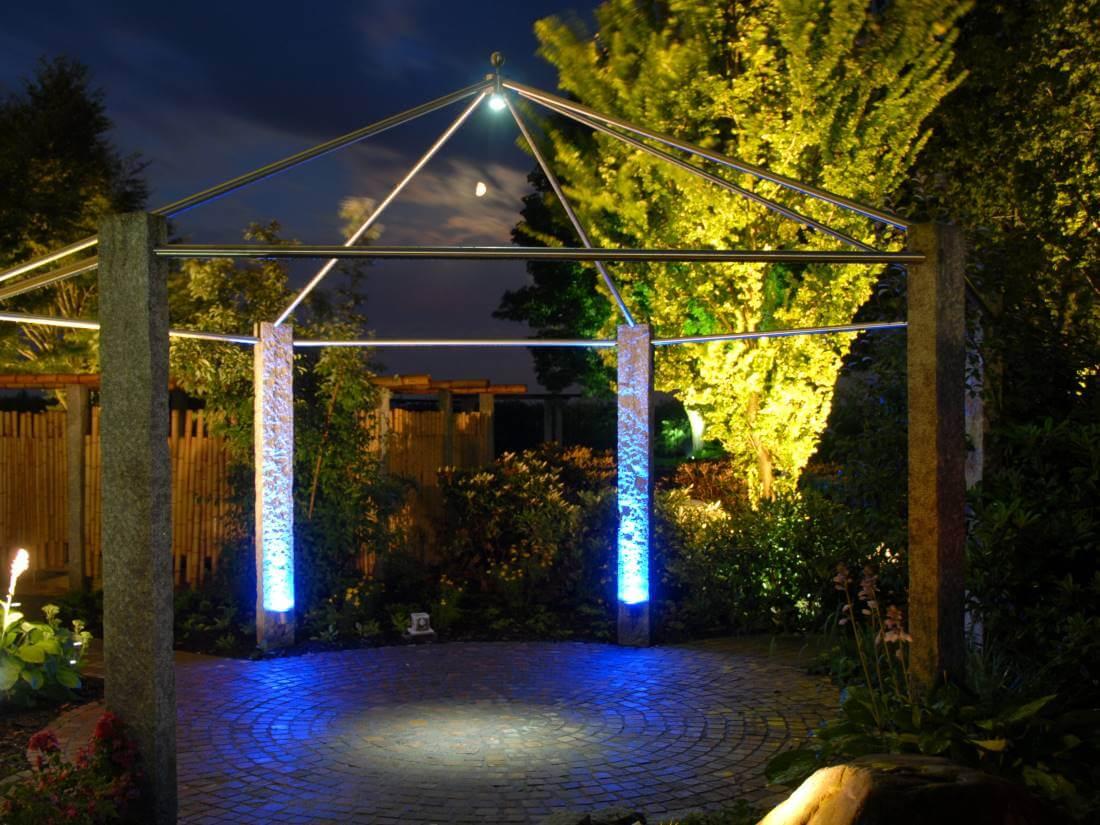 stromsparende Gartenbeleuchtung