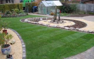 Der perfekte fertige Rasen für den Garten