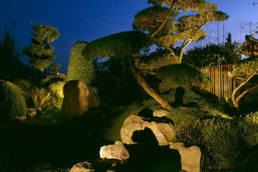 Licht im Garten