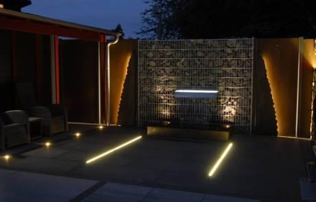 Lichtlband Terrasse