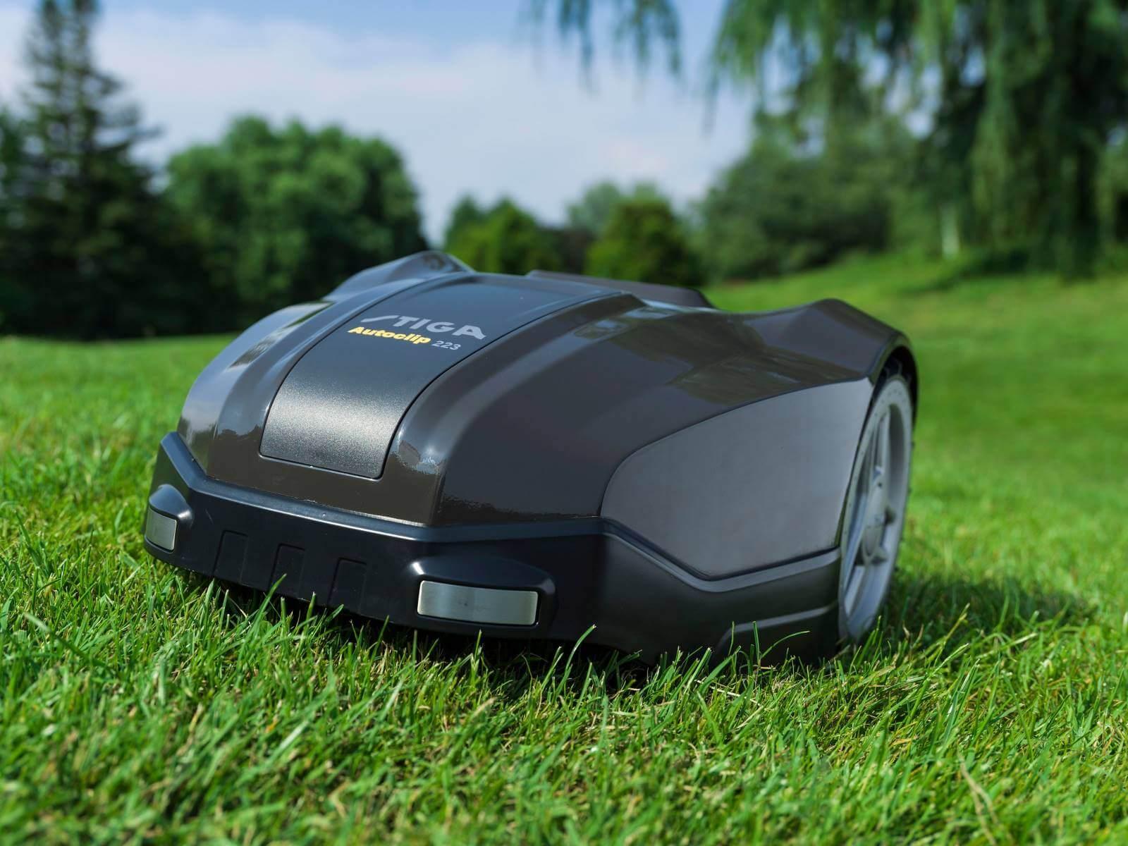 rasenroboter galabau m hler m hroboter automower stiga. Black Bedroom Furniture Sets. Home Design Ideas