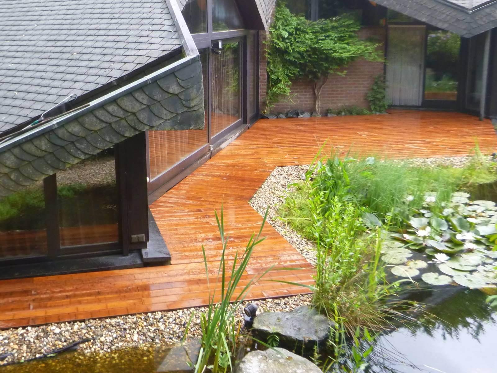 Superb Kuhle Startseite Dekoration Designe Bambus Aus Garten Entfernen #10: Terrasse Aus Bambus Galabau M Hler Terrassendielen Baumbus