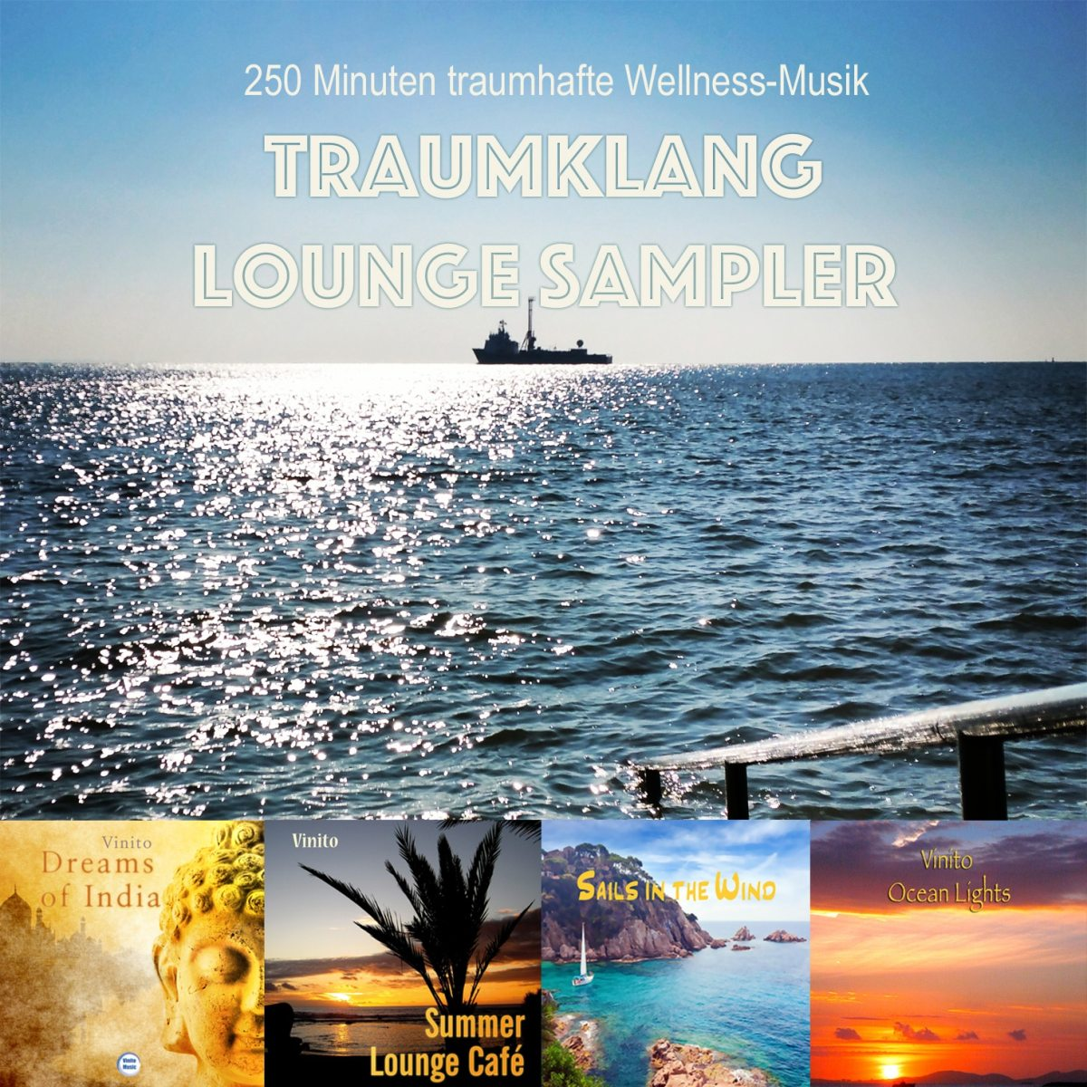 Traumklang-Lounge Sampler – 4 Stunden gemafreie Wellnessmusik