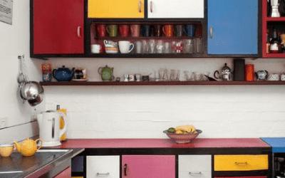 Colores modernos para cocinas con estilo