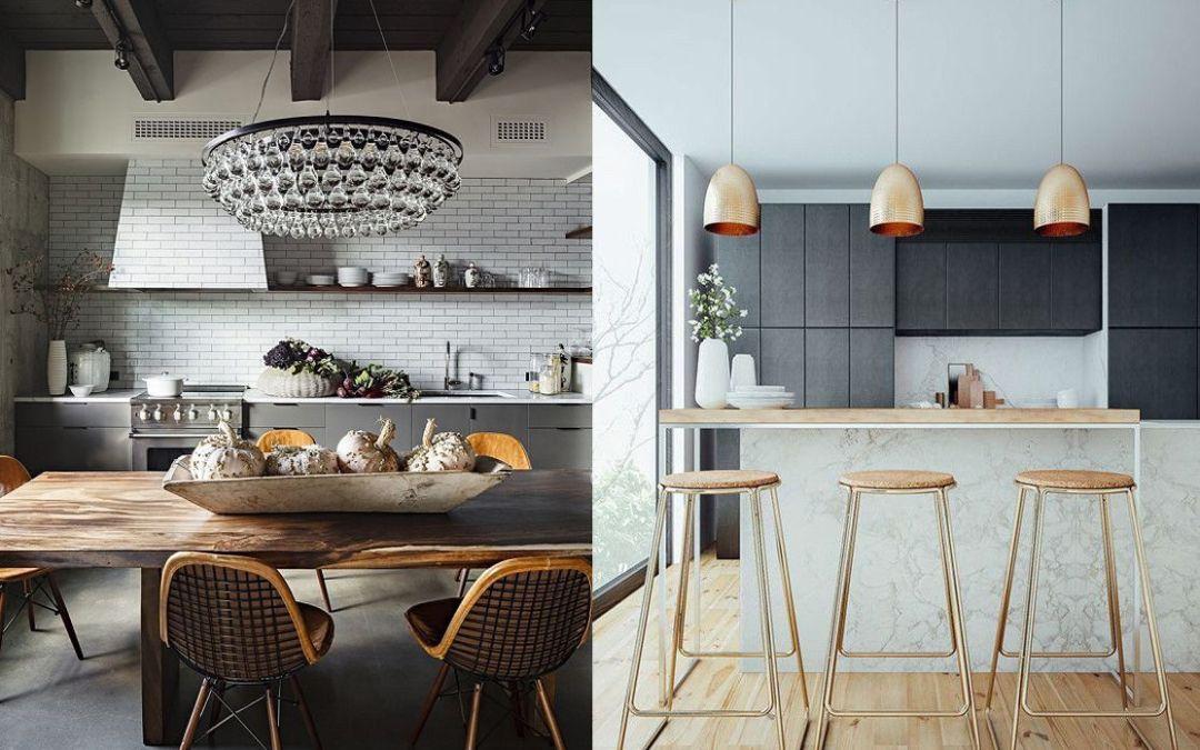 Lámparas decorativas para tu cocina ¿Cómo decidirte?
