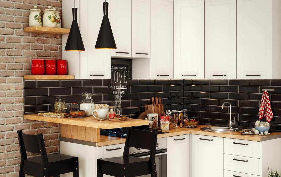 Ideas para organizar cocinas pequeñas