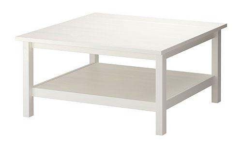 table basse en bois Hemnes Ikea