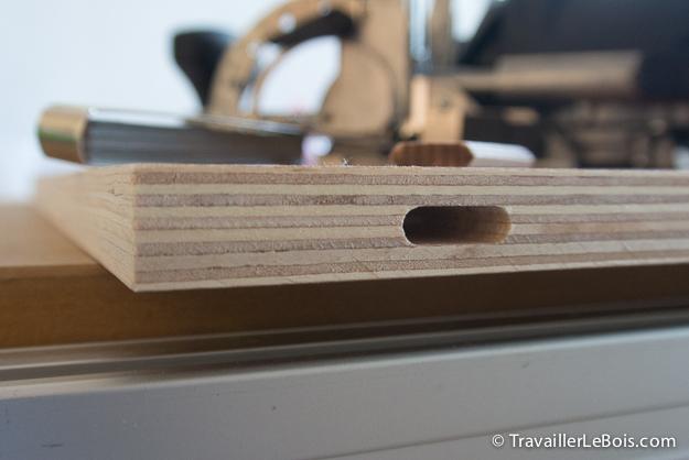 Fabrication d'un placard Festool Domino