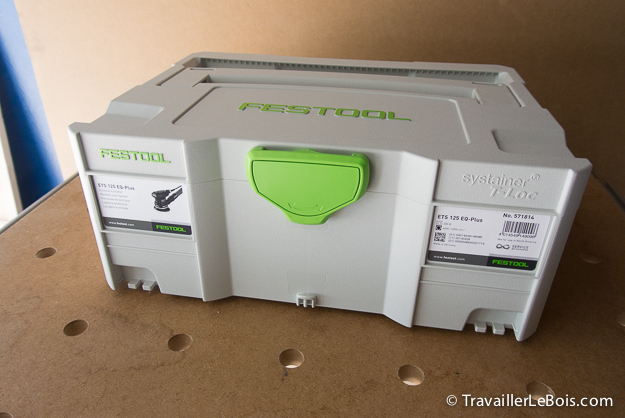 Systainer Festool ETS 125 EQ-Plus