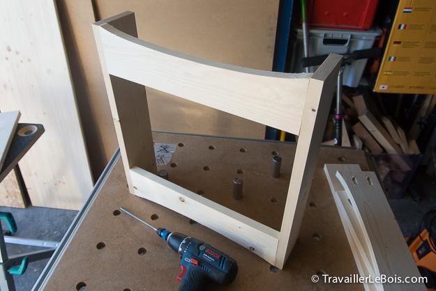 Fabrication d 39 un coffre jouets en bois travailler le bois - Fabriquer un coffre a jouets simple et rapide en bois ...
