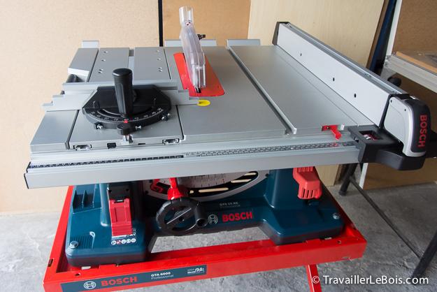 La scie sur table bosch gts 10 xc 1 re partie montage - Scie circulaire sur table pour bois de chauffage ...