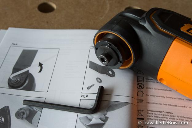 Outil oscillant multifonction Triton T12 OT