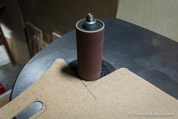 Ponceuse à cylindre Triton TSPS450