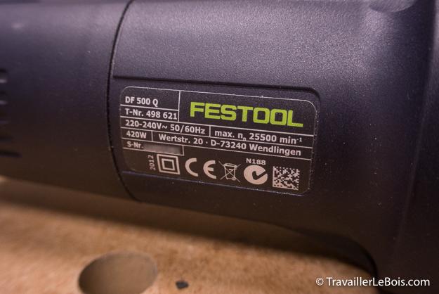 Fraiseuse Festool Domino DF 500