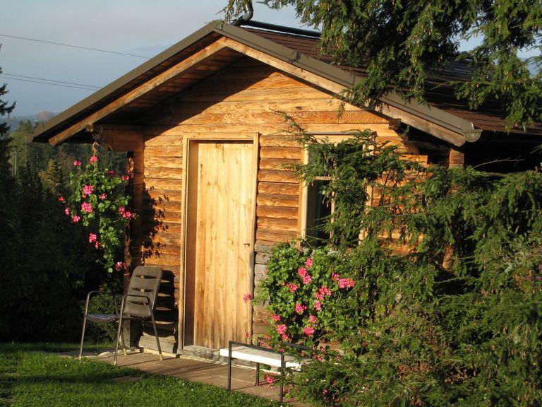 installation d un abri de jardin