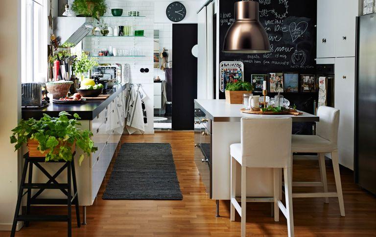 amenager une cuisine en longueur