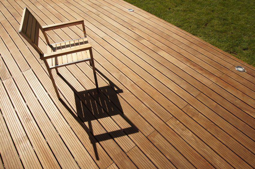 repeindre un terrasse en bois