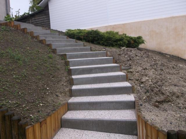 prix d un escalier exterieur bois