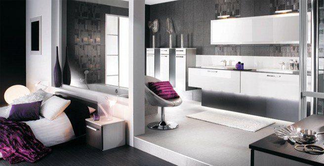 amenager une salle de bains dans la chambre