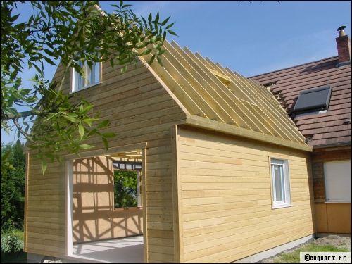 prix d une extension en ossature bois