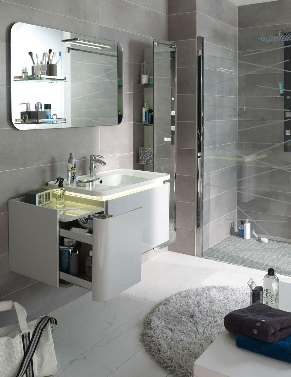 10 astuces pour amenager une petite salle de bains