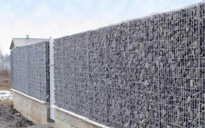 prix d un mur en gabion