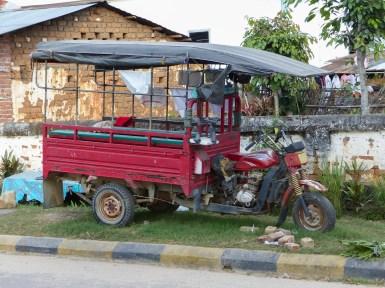 Trikshaw Tuktuk in Kengtung, Myanmar