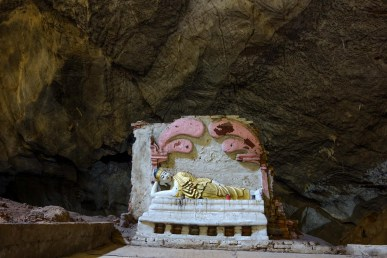 Buddha in Ya-The-Byan Cave close to Hpa-An