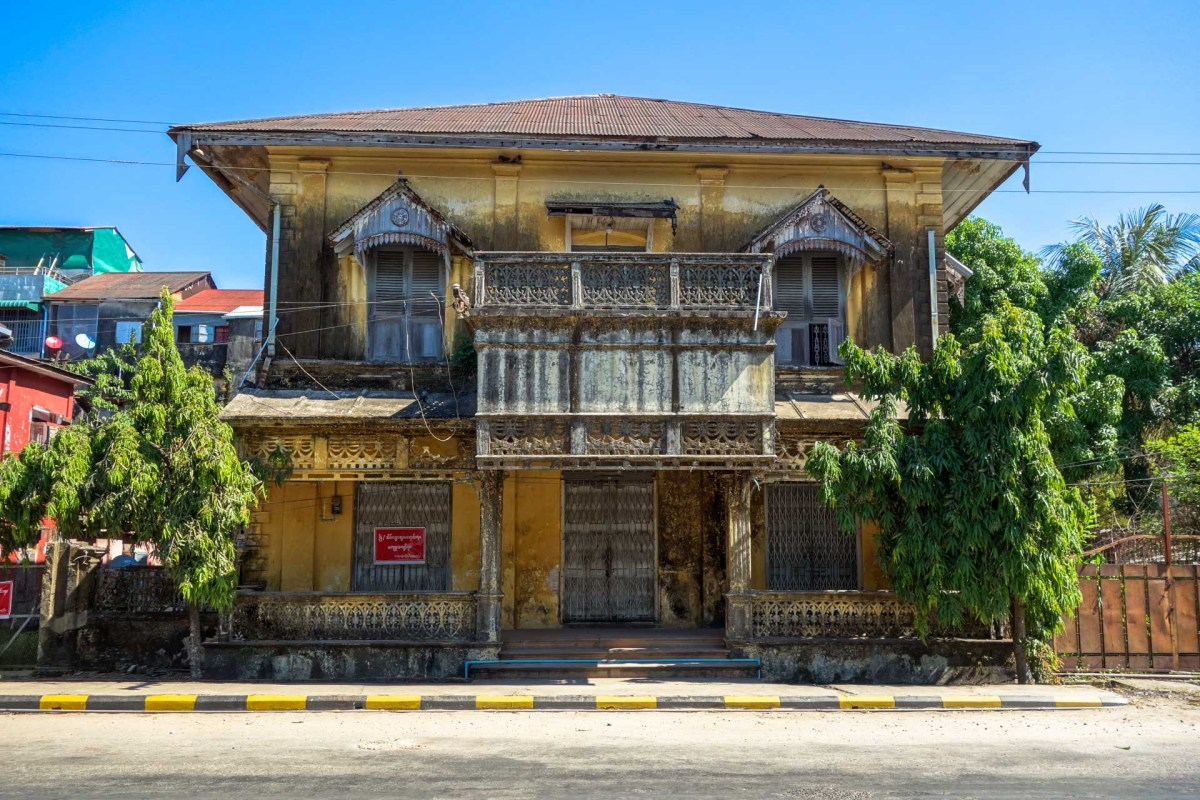 Colonial Building in Mawlamyine
