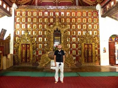 Sanctuary of Yadanar Bon Myint temple in Mawlamyine