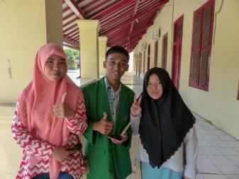 Makassar - English students Christian Jansen & Maria Düerkop