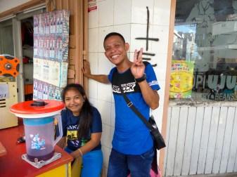 Makassar - broad smiles Christian Jansen & Maria Düerkop