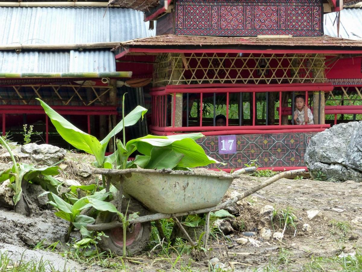 Tana Toraja Funeral Ceremony - at the traditional houses Christian Jansen & Maria Düerkop