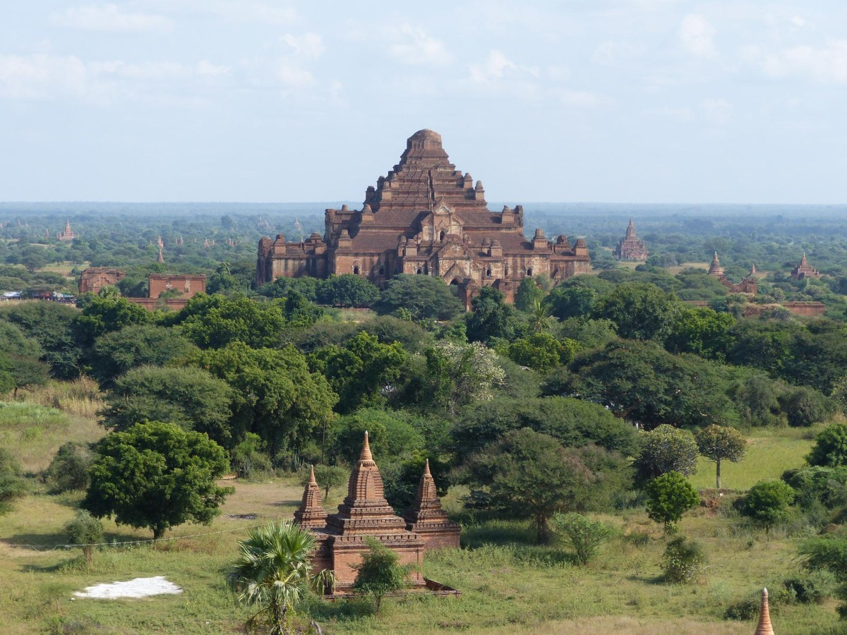 View on temple at Bagan Christian Jansen & Maria Düerkop