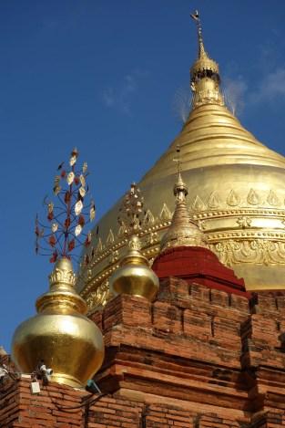 Golden stupa at Bagan temple Christian Jansen & Maria Düerkop