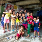 Jakarta - kids playing in the dirt Christian Jansen & Maria Düerkop