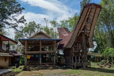 Tana Toraja - traditional house in village Christian Jansen & Maria Düerkop