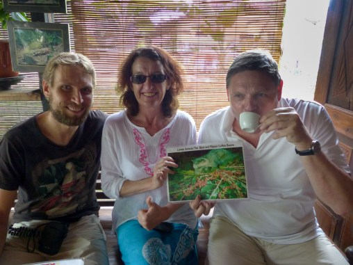... and, no matter how questionable the production method seems, the Luwak coffee is delicous without any acid Christian Jansen & Maria Düerkop