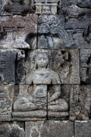 Yogyakarta - Borobodur temples: Buddha reliefs tell stories from his life Christian Jansen & Maria Düerkop