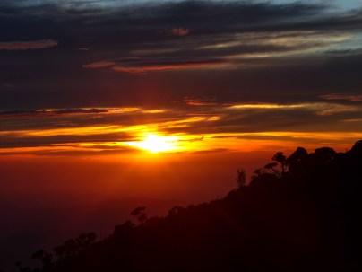 Mount Kinabalu - Basecamp: sunset Christian Jansen & Maria Düerkop