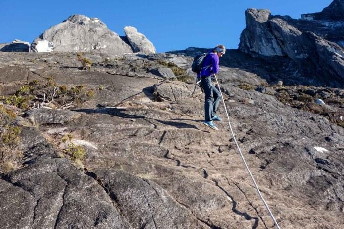 Mount Kinabalu - Maria climbs Christian Jansen & Maria Düerkop