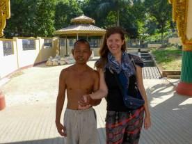 Yangon - Nice construction worker Christian Jansen & Maria Düerkop