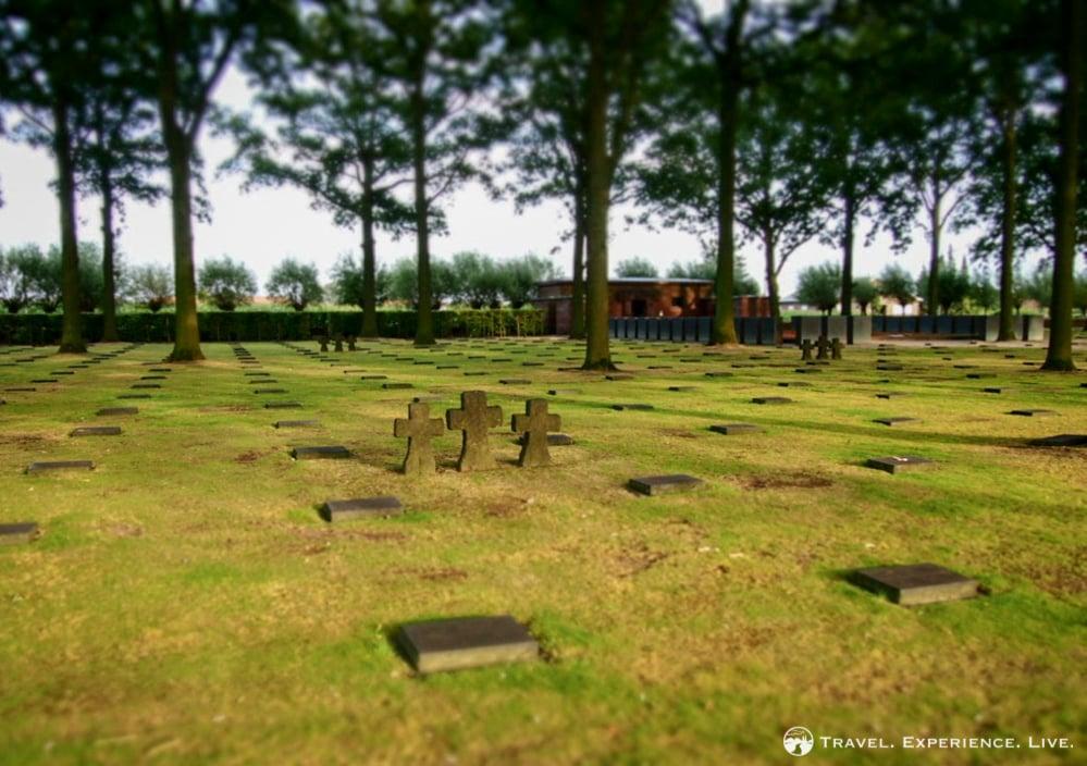 Langemark Soldatenfriedhof