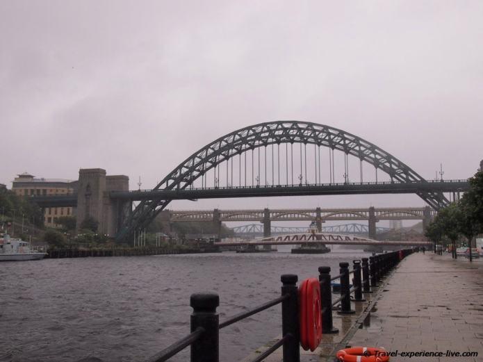 Bridges in Newcastle, England