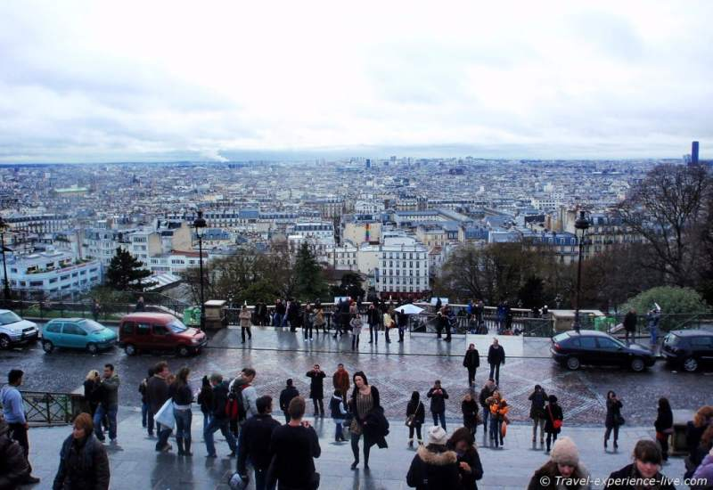 View from the Sacré-Cœur.