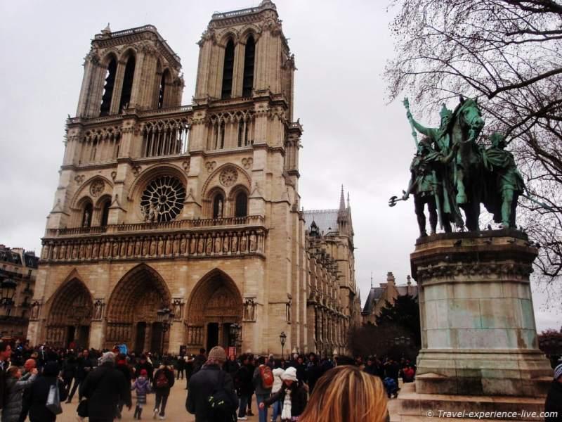Cathédrale Notre-Dame de Paris, France.