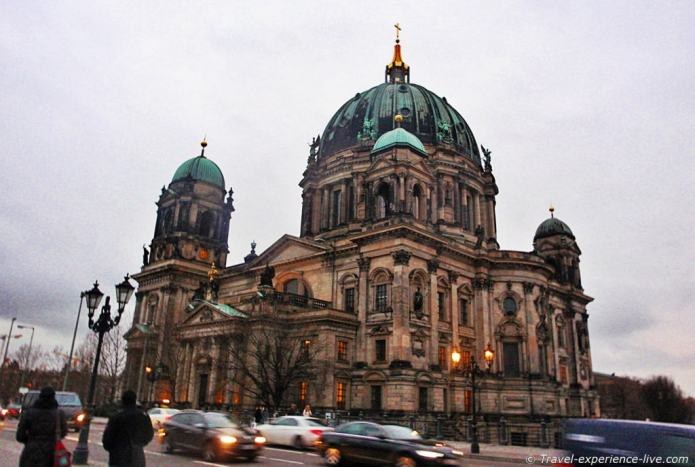 Berliner Dom, or Berlin Cathedral.