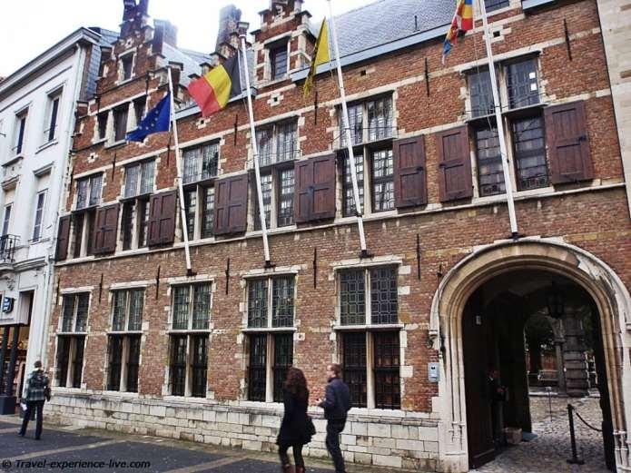 Rubens House in Antwerp.