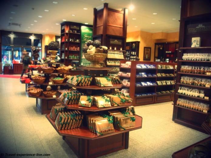 Fassbender & Rausch Chocolate Shop at the Gendarmenmarkt.